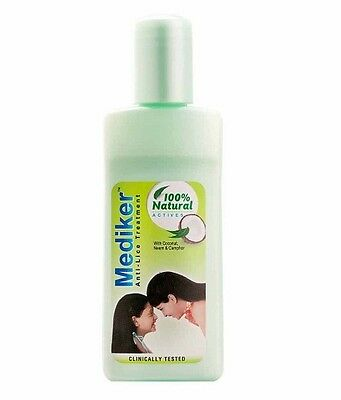 2 MEDIKAR ANTI LICE TREATMENT SHAMPOO KILLS HEAD LICE CLINICALLY 50ml
