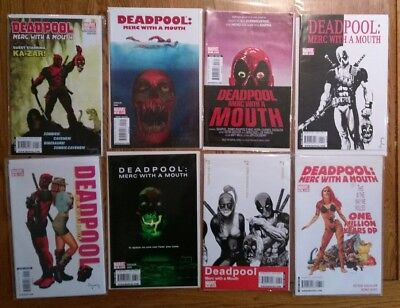 Deadpool Merc with a Mouth complete run 1-13