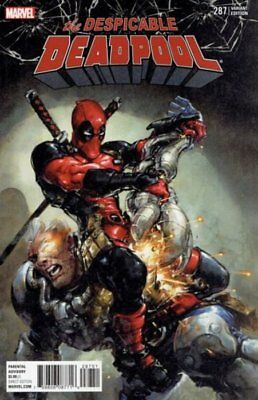 Despicable Deadpool Issue 287 - 1:25 Crain Retailer Variant - Marvel Legacy