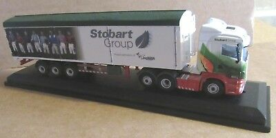 Rhd Scania R450 Hl Model Car Ready-made Stobart Ascot Champions Day Oxford