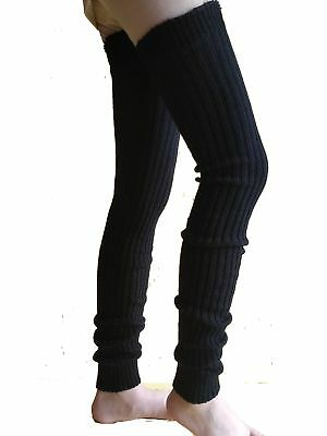 Wildestdream Women's Super Long Cable Knit Leg Warmers Boot Cover Socks B... NEW