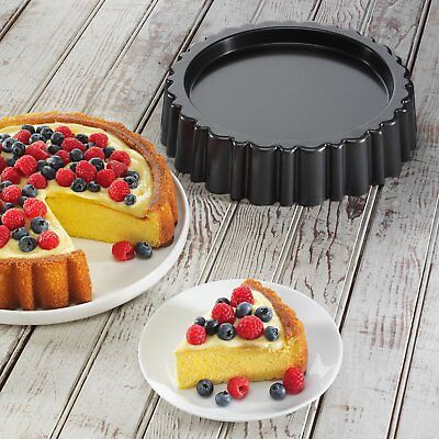 Chicago Metallic Maryann Cake Pan Non-stick coating for easy release Dishwasher
