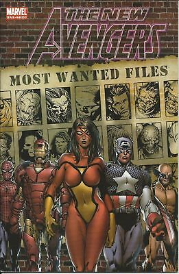 The New Avengers Most Wanted Files #1 (2006) 1St Printing Marvel Comics