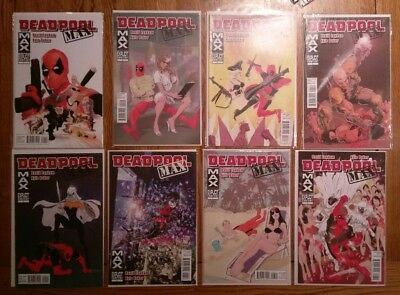 Deadpool Max complete 1-12 plus Deadpool Max-mas