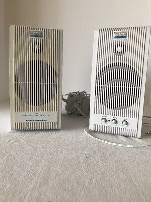 ALTEC LANSING ACS52 Speakers Phantom Bass (Audio Cable not included)