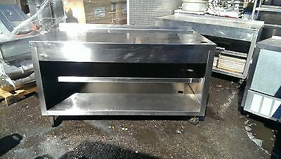 Stainless Steel Waitress Station Work Center Thermaduke Soda Stand Used Deal !!