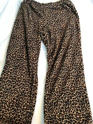 Animal Print Lounge Pants Women's Size 12-14