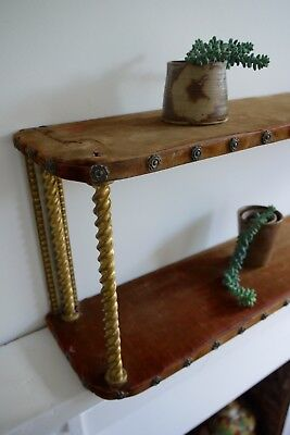 Velvet Victorian Wall Shelf | Antique Display Shelves