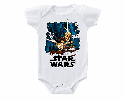 Star Wars A New Hope Cute Baby Onesie or T-shirt
