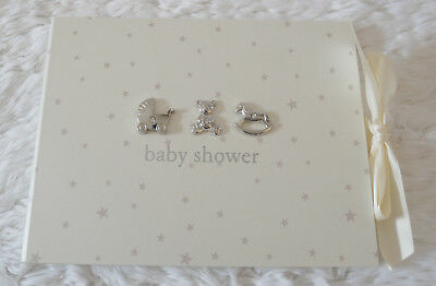 Bambino Baby Shower Guest Book - Lightly Damaged Box