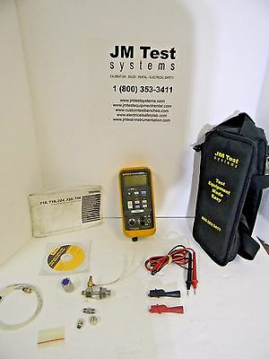 Fluke 719 100G Pressure Calibrator Psi With Leads, Filter, Soft Case Rd