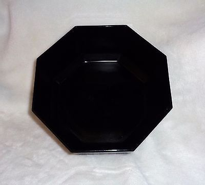 "Arcoroc France Octime Black Large Serving Bowl 9"" X 4"""