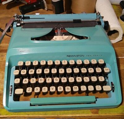 Royal Quiet Deluxe Typewriter W/Case and Ink Ribbon