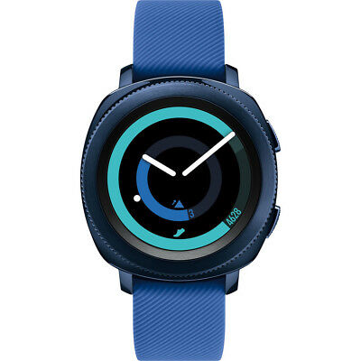 """Samsung Gear Sport Smartwatch Fitness Tracker with 1.2"""" Touchscreen in Blue"""