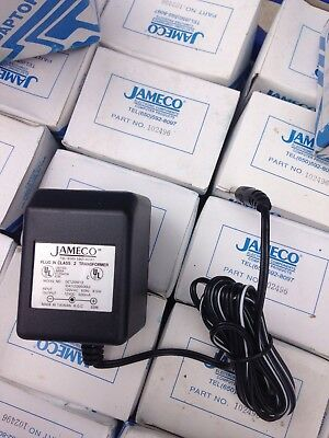 Jameco 102496 AC to DC Wall Adapter Transformer 12V @500mA Model DC1205F12