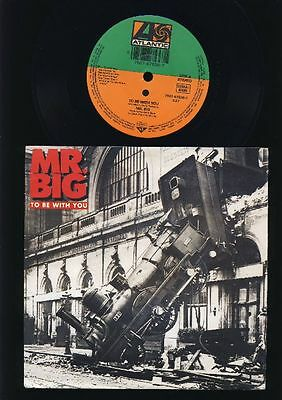 Mr.Big - To Be With You - Green Tinted Sixties Mind 7 Inch Vinyl Single GERMANY