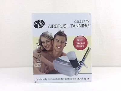 Rio Celebrity Airbrush Tanning Salon Flawless Results New Open Box Complete