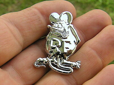RAT FINK LAPEL PIN Badge HIGH QUALITY Biker Emblem fit HARLEY-DAVIDSON RatFink ~