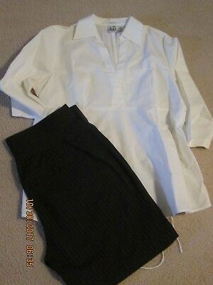 Womens Duo Maternity, Size Large Set, Gently Worn