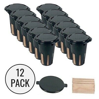 NEMESIS In Ground Monitoring Bait Stations (x 12) Termite DIY Barrier Control