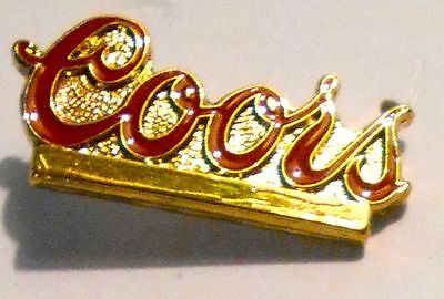 """Coors Hat Pin Ale Lapel Pin 1"""" inch Vintage   Beer"""