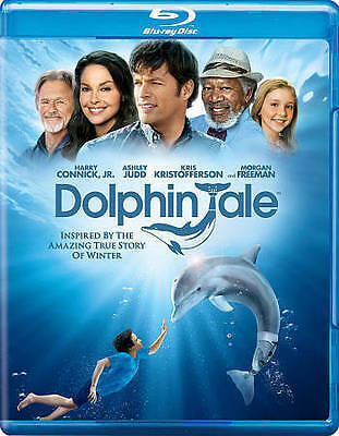 Dolphin Tale (Blu-ray/DVD, 2011, 2-Disc Set) NEW SEALED HARRY CONNICK, JR.