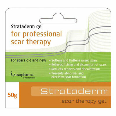 Strataderm Scar Therapy Gel 50G Softens & Flattens Raised Scars