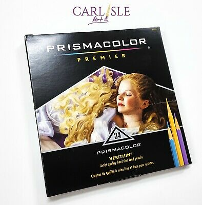 Prismacolor Premier Verithin 24 Coloured Pencil Box Set