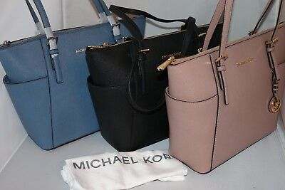 c06c9124f1ec MICHAEL MICHAEL KORS Jet Set Top Zip East/West Tote - Bag - Denim ...