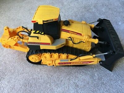 New Bright Power Horse Dozer Remote Control 1997 Digging Scooping Missing Remote