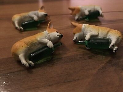 Drunk Corgi Figure