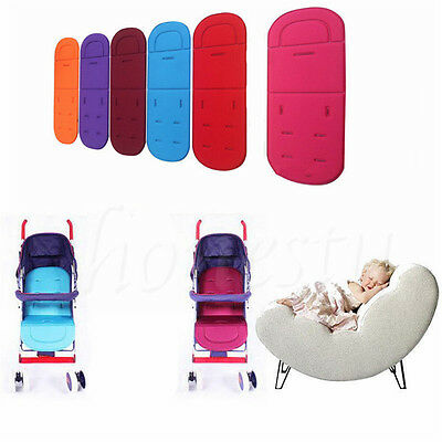 Washable Soft Stroller Pushchair Car Seat Padding Pram Liner Pad Cushion Mat