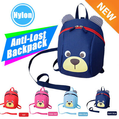 Lovely Cute Children Kids Anti-Lost Bag Kindergarten Toddler Backpack Bag AU AG