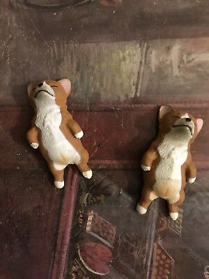 Sleeping Corgi figure