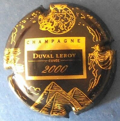 capsule champagne DUVAL LEROY n°24 cuvée 2000 cote 10€