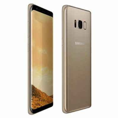 Samsung Galaxy S8+ Plus G955FD Duos SIM LTE 64GB Maple Gold Stock in EU garant