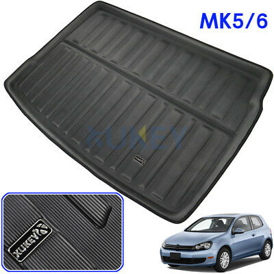 Rear Boot Liner Cargo Trunk Mat Floor Tray For VW Golf MK6 MK5 Hatchback 03-13