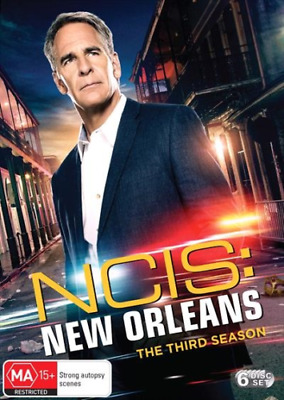 NCIS NEW ORLEANS - SEASON 3  -  DVD -  Official Region 2 UK Compatible
