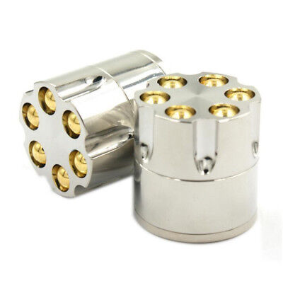 1pc Bullet Shape Metal Herbal Cigar Tobacco Grinder Smoke Crusher Hand Muller