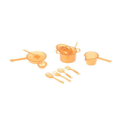 10pcs Mini Tableware Toys Kitchen Dining  for BJD Doll House accessory play#&