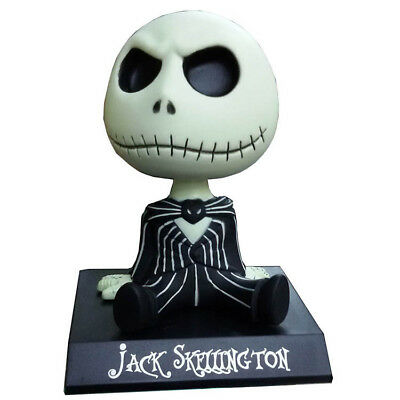 Cute Nightmare Before Christmas Black and Red Jack Skeleton Halloween Doll Gift
