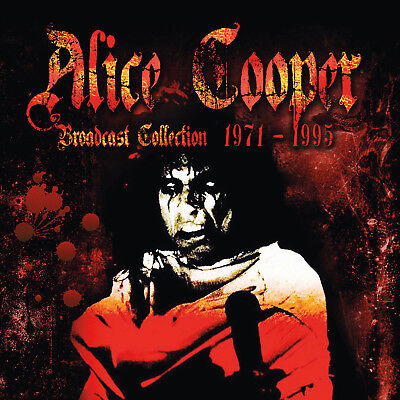 ALICE COOPER - Broadcast Collection 1971 - 1995. 8CD BOX SET + Sealed **NEW**