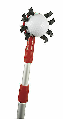Black Widow Golf Ball Retriever extends to 3.5m - stores like a club in your bag