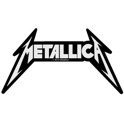 Metallica Shaped Logo Patch Official Heavy Metal Band Merch New