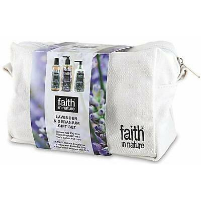 Faith in Nature Set Regalo Lavanda e Geranio