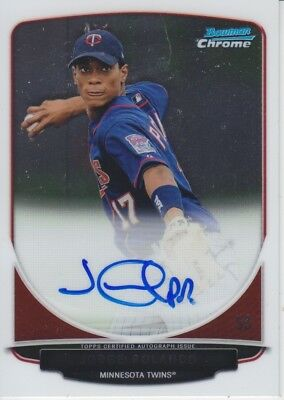 Jorge Polanco 2013 Bowman Chrome Auto