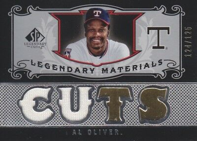 Al Oliver 2007 Sp Legendary Cuts Jersey /125