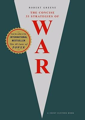 Concise 33 Strategies of War by Robert Greene (NEW)