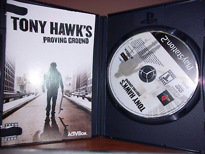 Tony Hawk's Proving Ground (Sony PlayStation 2, 2007) PS2 Complete!