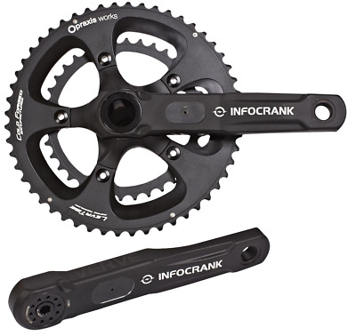 Verve Infocrank Power meter M30 Axle 175mm with 52/36 chainrings BRAND NEW